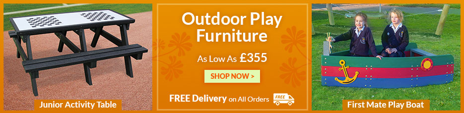 Early Years and Junior Outdoor Furniture